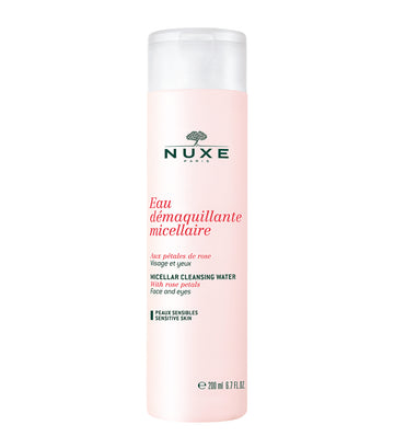 nuxe 200ml rose petal micellar cleansing water