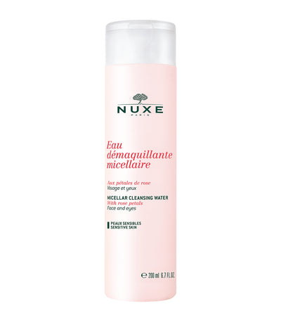 nuxe rose petal micellar cleansing water