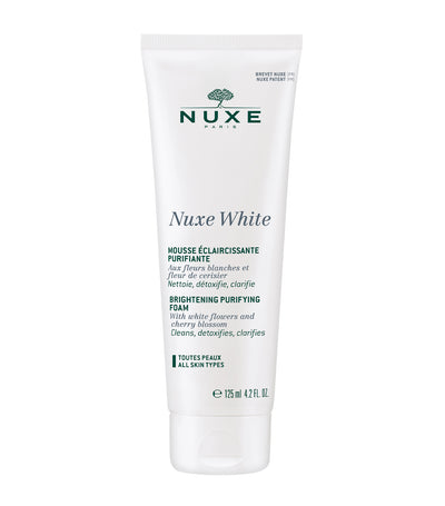 nuxe white purifying foam cleanser