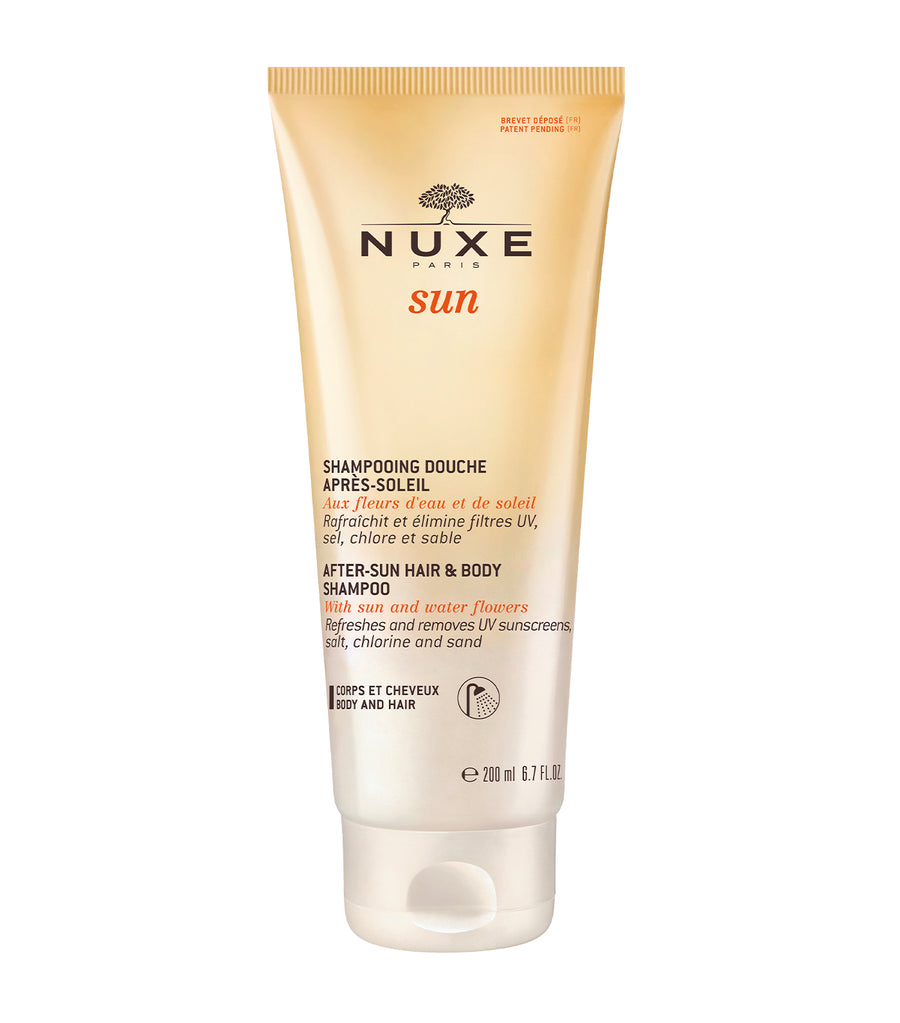 nuxe after-sun hair & body shampoo