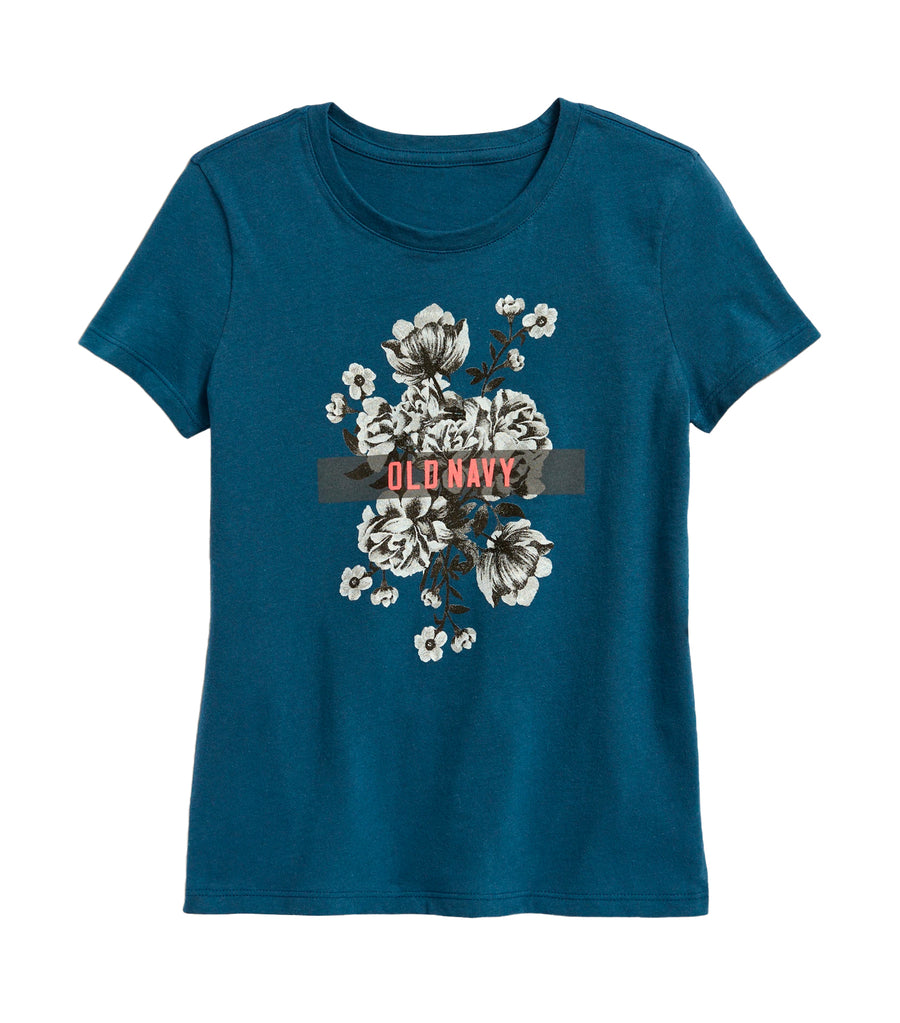 old navy kids evening shadow short-sleeve graphic tee