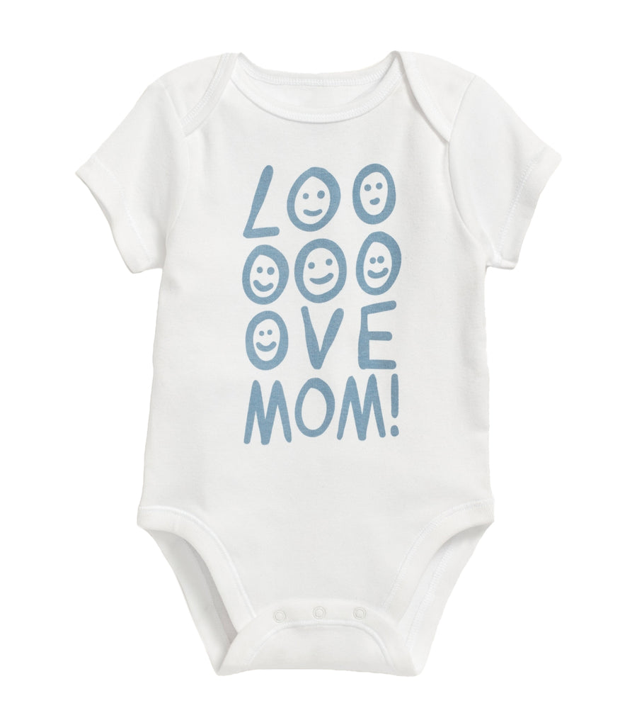 old navy toddler unisex graphic short-sleeve bodysuit - mom