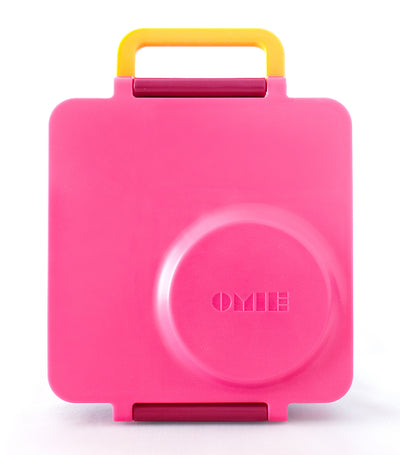 omiebox pink berry lunchbox
