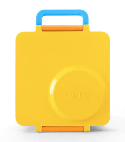 omiebox yellow sunshine lunchbox