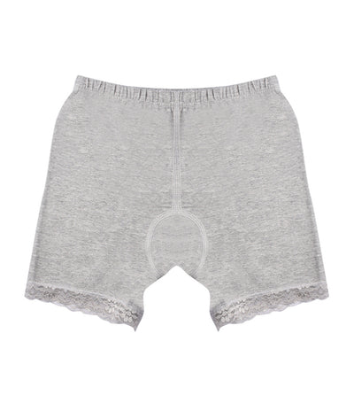 meet my feet gray selah innerwear shorts