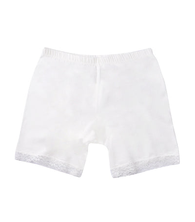 meet my feet white selah innerwear shorts