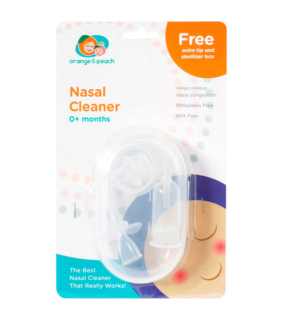 orange and peach nasal cleaner
