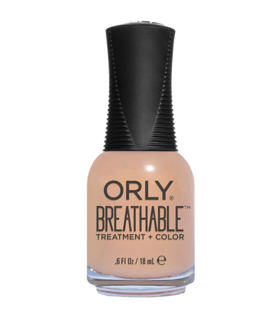orly nourishing nude breathable treatment + color