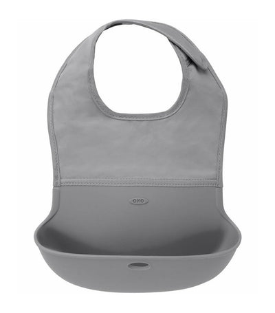 oxo tot gray roll-up bib