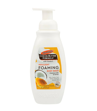 palmer's indulgent foaming body wash