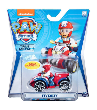 paw patrol red diecast vehicle - ryder