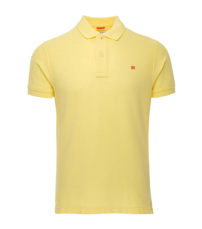 pedro del hierro classic fit polo shirt light yellow
