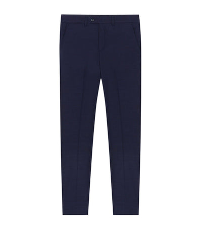 pedro del hierro wool blend dress pants navy