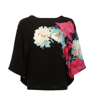 criselda rachel floral detailed top