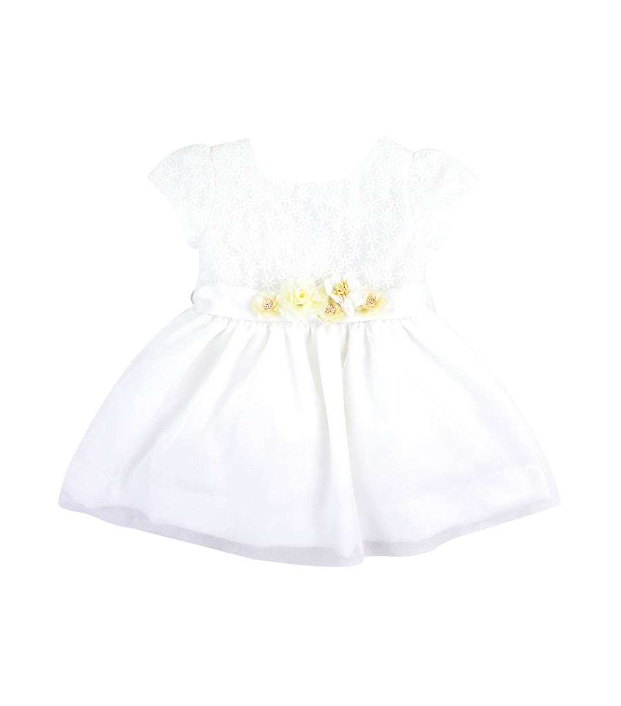 periwinkle white claudine s19 party dress
