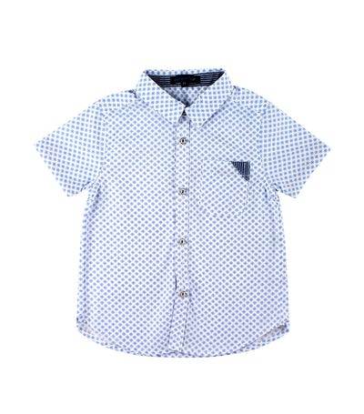 periwinkle light blue alexander s19 short-sleeve polo shirt