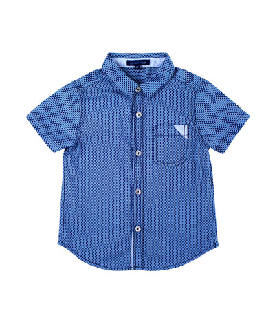 periwinkle navy alexander s19 short-sleeve polo shirt