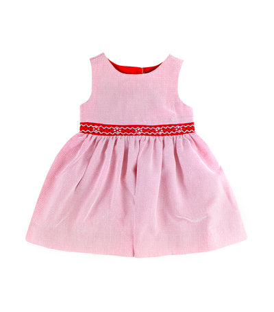 periwinkle red britta s19 smock dress