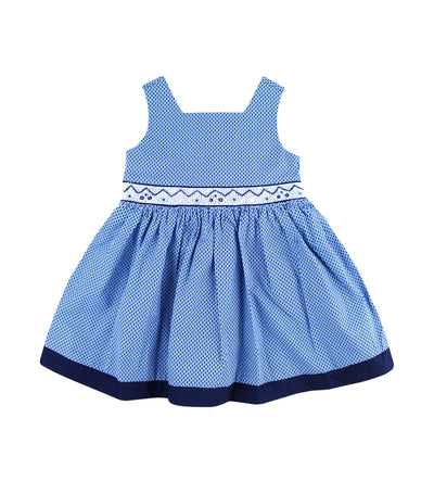 periwinkle navy cinderella s19 smock dress