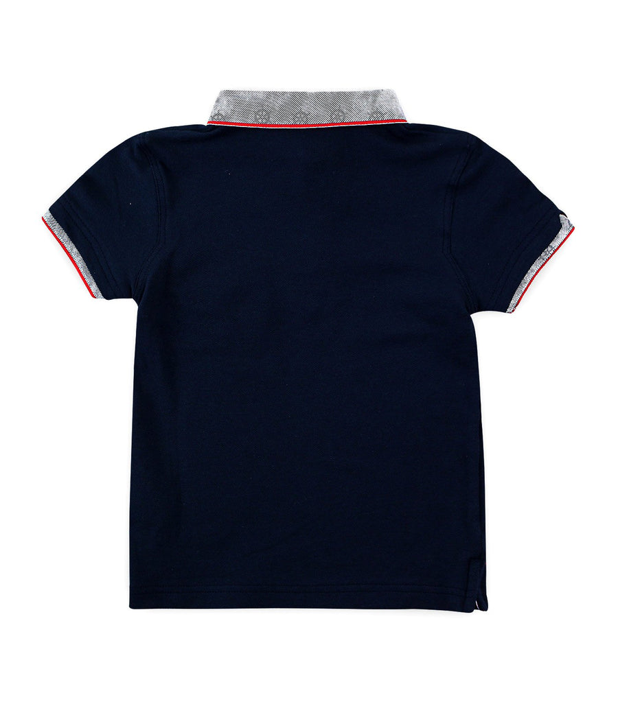 periwinkle navy cade h19 polo shirt