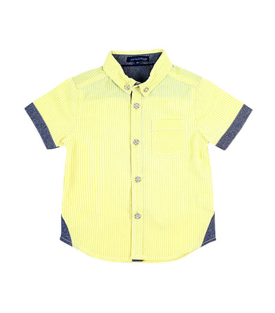 periwinkle yellow jaime h19 short-sleeved polo