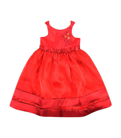 periwinkle red ebony h19 party dress