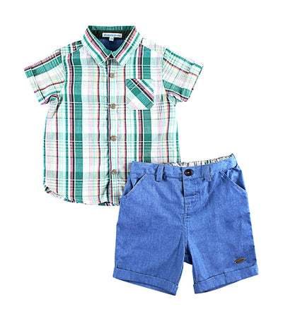 periwinkle green danno h19 infant set