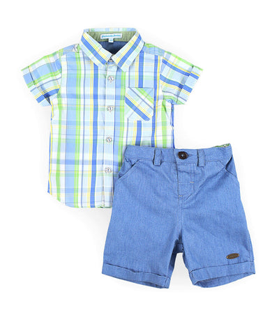 periwinkle blue danno h19 infant set