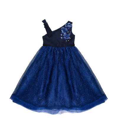 periwinkle navy debbie h19 party dress