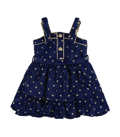 periwinkle navy daryl h19 dress