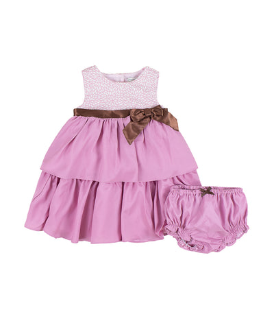 periwinkle pink elga h19 infant dress