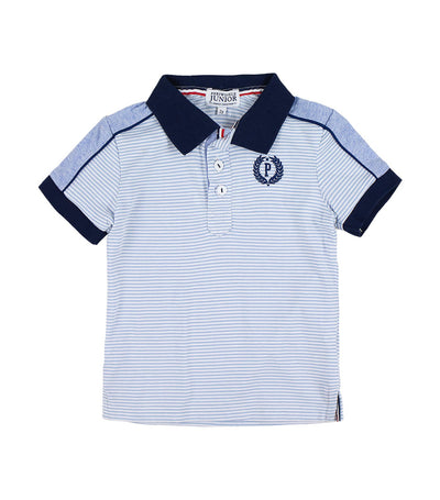 periwinkle blue robb h19 polo shirt