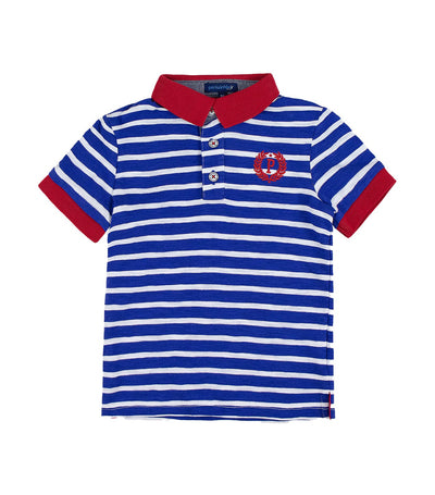 periwinkle navy cairo h19 polo shirt