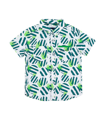 periwinkle green edric h19 short-sleeved polo