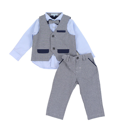 periwinkle blue symon h19 infant set