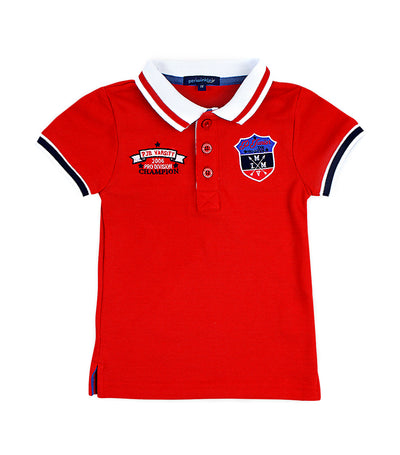 periwinkle red anderson s19 polo shirt