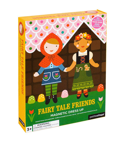 petit collage fairy tale friends magnetic dress-up