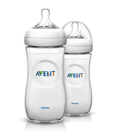philips avent natural baby bottle 11oz (twin pack)