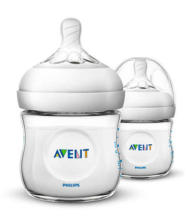 philips avent natural baby bottle 4oz (twin pack)