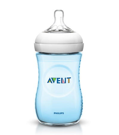 philips avent blue natural baby bottle 9oz