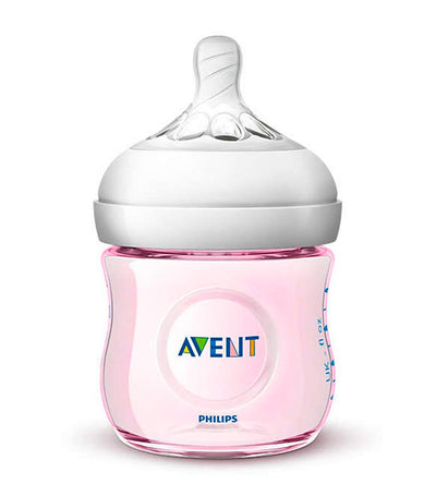 philips avent pink natural baby bottle 4oz