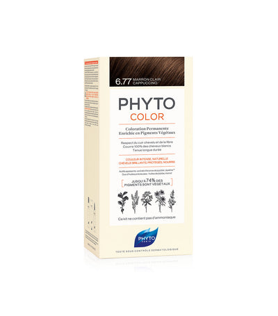 phyto color 6.77 cappuccino