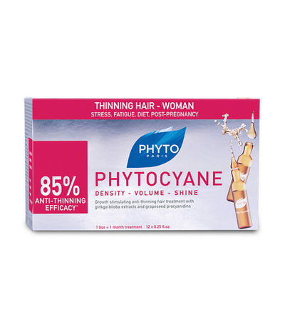 phyto phytocyane revitalizing serum for thinning hair