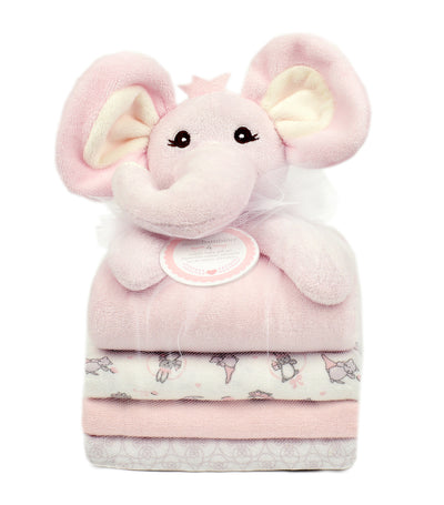 piccolo bambino cuddly pal and 3 blankets