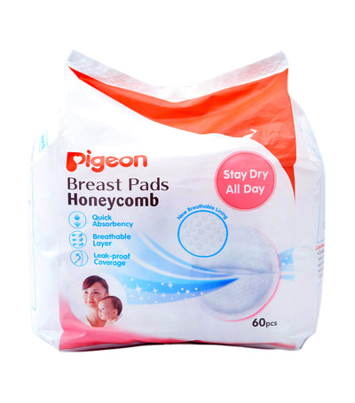 pigeon breast pads honeycomb (60 pads)