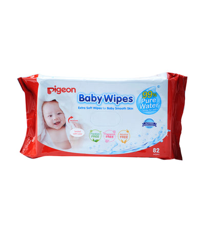 pigeon baby wipes 82 sheets