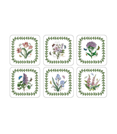 pimpernel botanic garden coasters set of 6