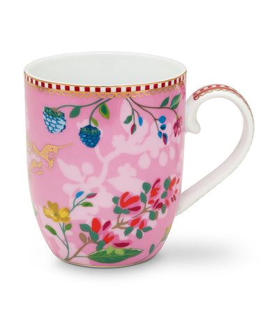 pip studio hummingbirds pink small mug