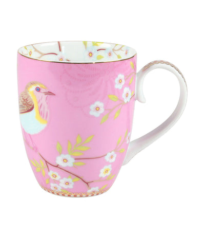 pip studio early bird pink large mug