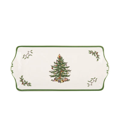 portmeirion christmas tree sandwich tray